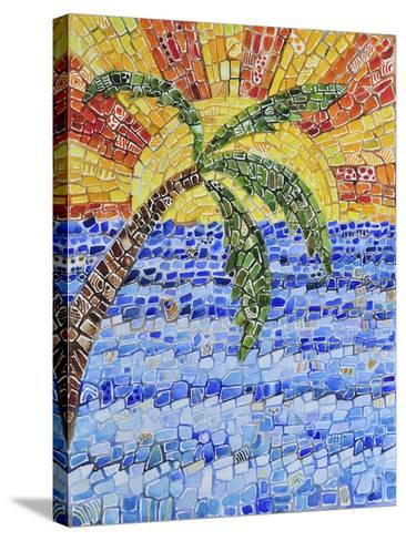 Caribbean Day-Charlsie Kelly-Stretched Canvas Print
