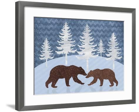 Bear-Erin Clark-Framed Art Print