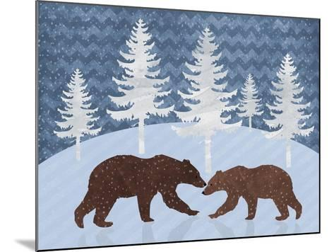 Bear-Erin Clark-Mounted Giclee Print