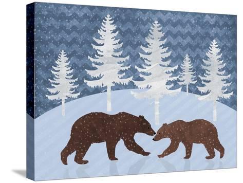 Bear-Erin Clark-Stretched Canvas Print