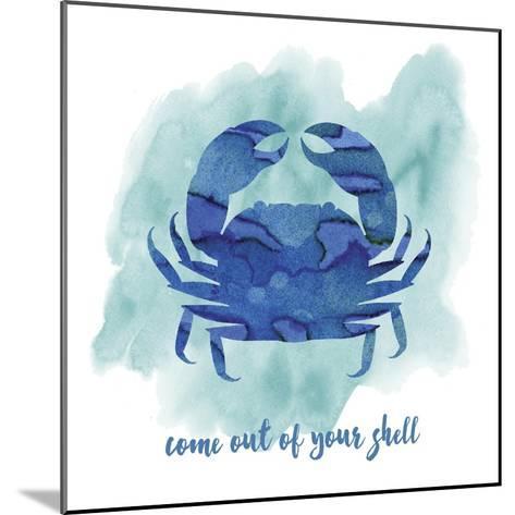 Crab-Erin Clark-Mounted Giclee Print