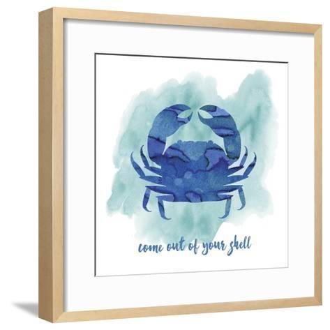Crab-Erin Clark-Framed Art Print