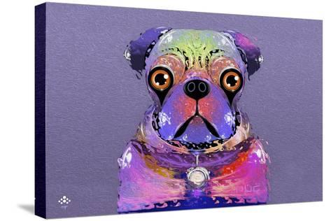 PUG Purple XXXIII-Fernando Palma-Stretched Canvas Print
