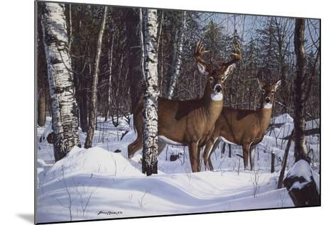 Zone 1 Whitetail-Bruce Miller-Mounted Giclee Print