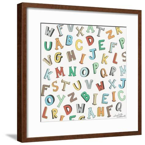 Alphabet Animals Letters Giclee Print by Elizabeth Caldwell | the ...