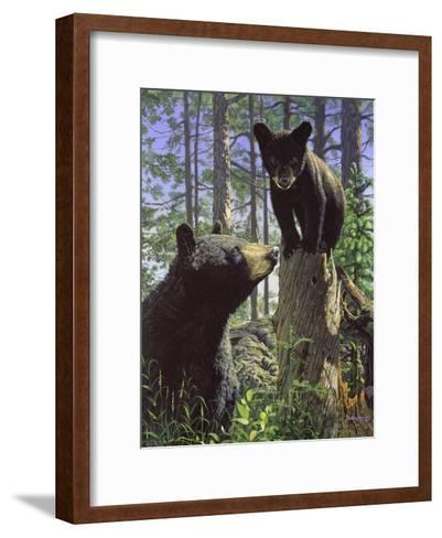 Stump Jumper-Bruce Miller-Framed Art Print