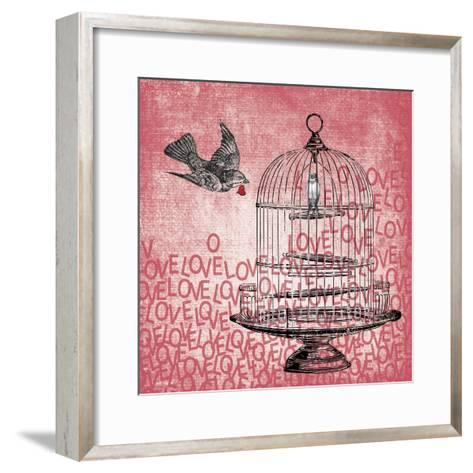 Love Birds-Erin Clark-Framed Art Print