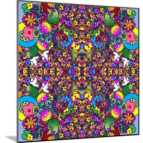 Flowers Kalidescope-Howie Green-Mounted Giclee Print