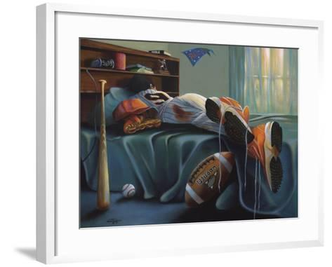 That's My Boy-Geno Peoples-Framed Art Print