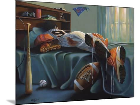That's My Boy-Geno Peoples-Mounted Giclee Print
