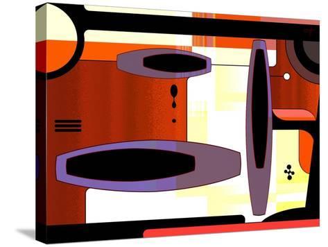 Retro Nouveau Background XLIV-Fernando Palma-Stretched Canvas Print