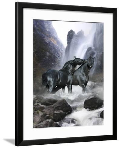Dream Horses 065-Bob Langrish-Framed Art Print