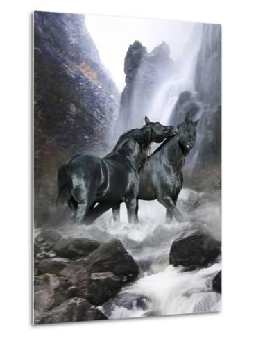 Dream Horses 065-Bob Langrish-Metal Print