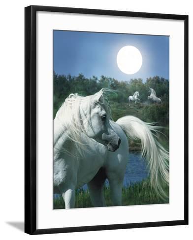 Dream Horses 066-Bob Langrish-Framed Art Print