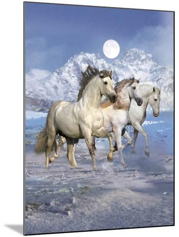 Dream Horses 061-Bob Langrish-Mounted Photographic Print