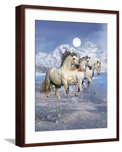 Dream Horses 061-Bob Langrish-Framed Art Print