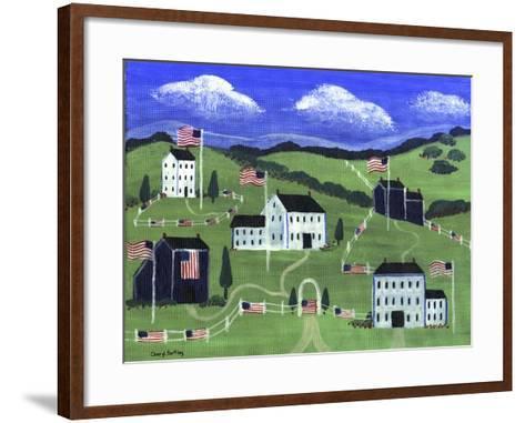 American Village-Cheryl Bartley-Framed Art Print