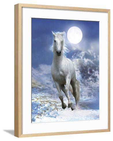 Dream Horses 060-Bob Langrish-Framed Art Print
