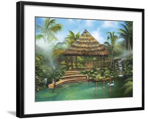 Tropical Paradise-Geno Peoples-Framed Art Print