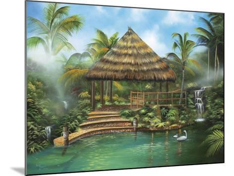 Tropical Paradise-Geno Peoples-Mounted Giclee Print