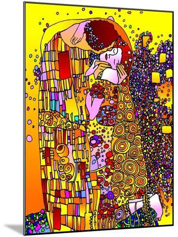 The Kiss-Howie Green-Mounted Giclee Print