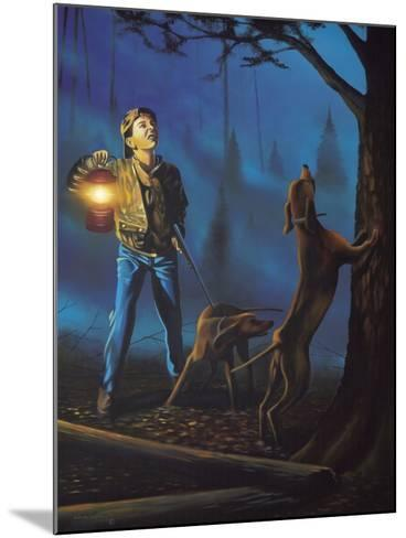 Treed-Geno Peoples-Mounted Giclee Print