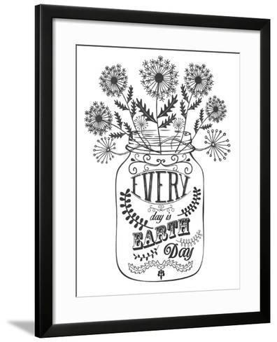 Earth Day-Erin Clark-Framed Art Print