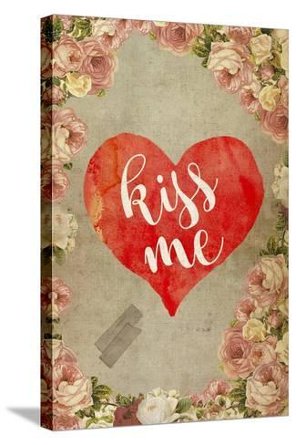 Kiss Me-Elo Marc-Stretched Canvas Print
