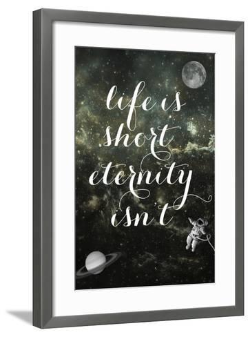 Life is Short-Elo Marc-Framed Art Print