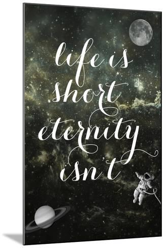 Life is Short-Elo Marc-Mounted Giclee Print