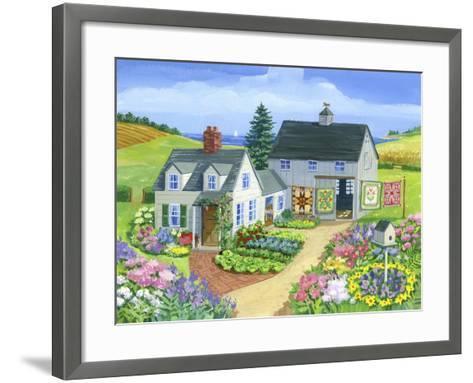 Quilt Barn-Geraldine Aikman-Framed Art Print