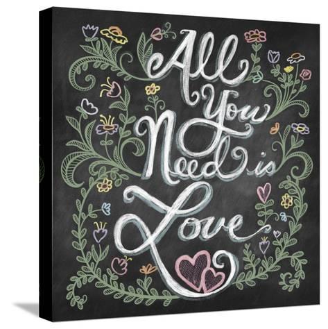 All You Needis Love-Elizabeth Caldwell-Stretched Canvas Print
