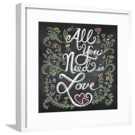 All You Needis Love-Elizabeth Caldwell-Framed Art Print