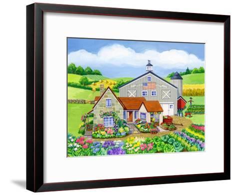 Oakley Farm-Geraldine Aikman-Framed Art Print