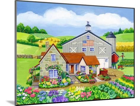 Oakley Farm-Geraldine Aikman-Mounted Giclee Print