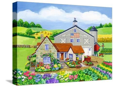 Oakley Farm-Geraldine Aikman-Stretched Canvas Print