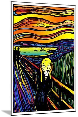 Scream 2-Howie Green-Mounted Giclee Print