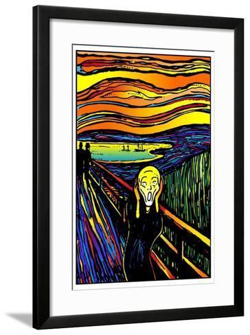 Scream 2-Howie Green-Framed Art Print