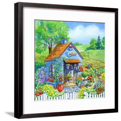 Garden Shed-Geraldine Aikman-Framed Art Print