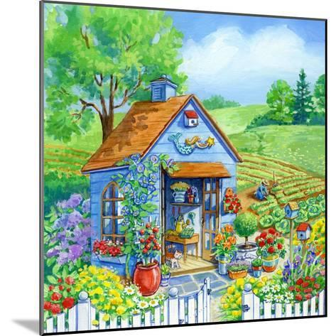 Garden Shed-Geraldine Aikman-Mounted Giclee Print