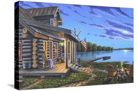 Lakeside Retreat-Geno Peoples-Stretched Canvas Print