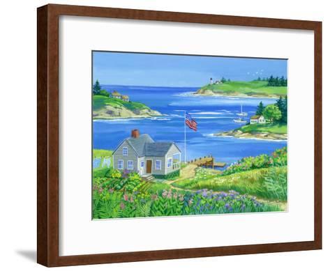Summer View-Geraldine Aikman-Framed Art Print