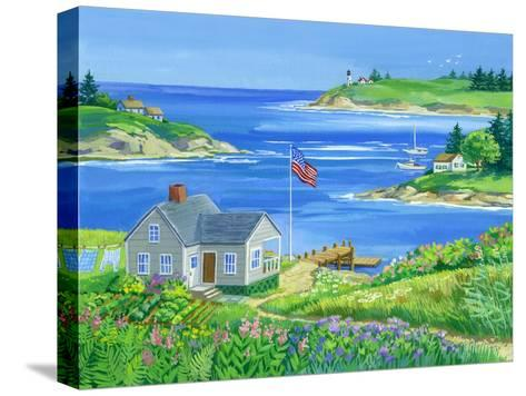 Summer View-Geraldine Aikman-Stretched Canvas Print