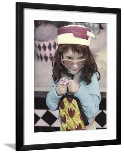 Fashionista-Gail Goodwin-Framed Art Print