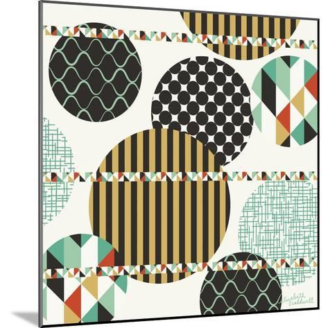 Geo Patterned Dots-Elizabeth Caldwell-Mounted Giclee Print
