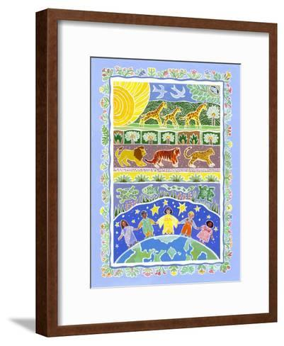 Children of the World-Geraldine Aikman-Framed Art Print