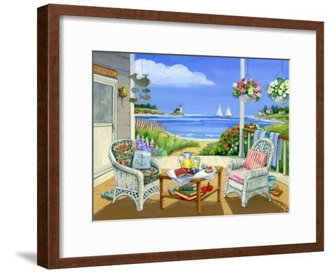 Wicker Porch-Geraldine Aikman-Framed Art Print