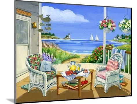 Wicker Porch-Geraldine Aikman-Mounted Giclee Print