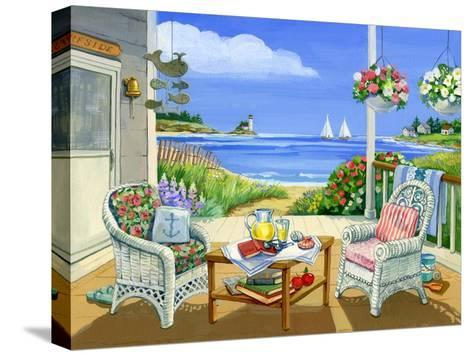 Wicker Porch-Geraldine Aikman-Stretched Canvas Print