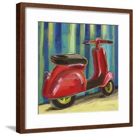 Pop Scooter-Howie Green-Framed Art Print
